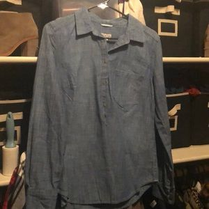 Medina light denim top